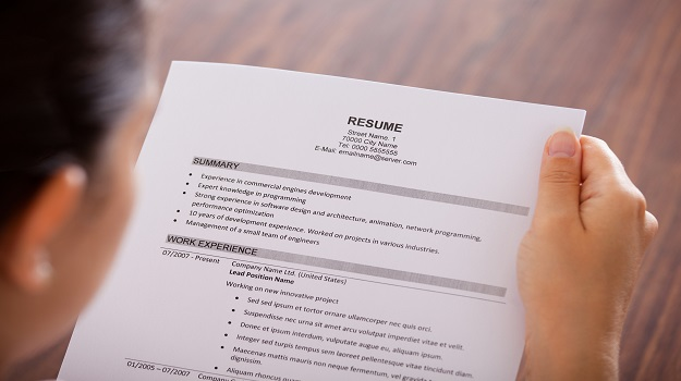 Building a High Impact Resume